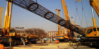 DuSense Ougan Beijing Ministry of Railways Command & Control Center, Super-Cell BDSL Testing of Piles - DuSense LLC