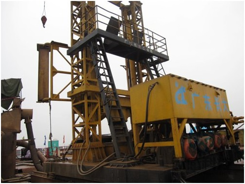 1. Drilling equipment for test pile - Hong Kong Zhuhai Macao Bridge DuSense LLC Project
