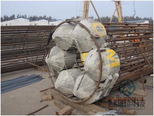 complete upper part of load cell after welding - Hong Kong Zhuhai Macao Bridge DuSense LLC Project