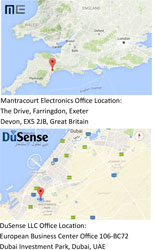 Business Partnership of DuSense LLC and Mantracourt Electronics 1