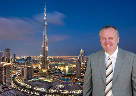 Mike Shaw the General Manager of DuSense was part the team who constructed Burj Khalifa the Worlds Tallest Building