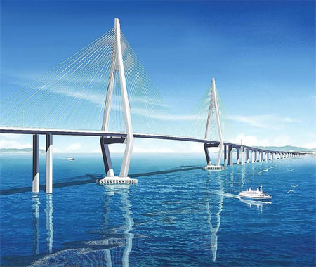 China's Jiaozhou (Qingdao) Bay Bridge - DuSense LLC