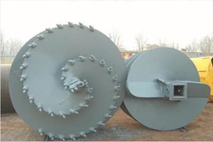 Double-Cut Single Flight Progressive Rock Auger- DuSense LLC