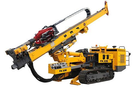 F130 Anchor Rotary Drilling Rig - DuSense LLC