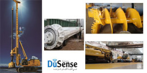 DuSense also offer a wide range of Piling equipments including drilling rigs and tools from Foundation Equipment Services - DuSense LLC