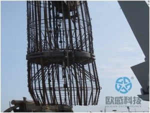 Lower load cell and reinforcement cage Hong Kong Zhuhai Macao Bridge