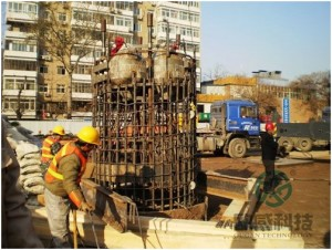 Lower reinforcement cage Beijing Ministry of Railways