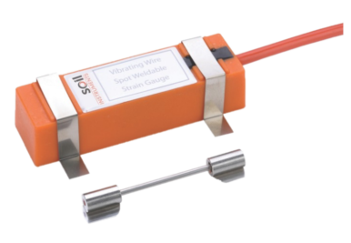 Vibrating Wire Spot Weldable Strain Gauge - DuSense LLC