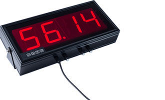 Large Wireless Telemetry 4-digit LED Display - DuSense LLC
