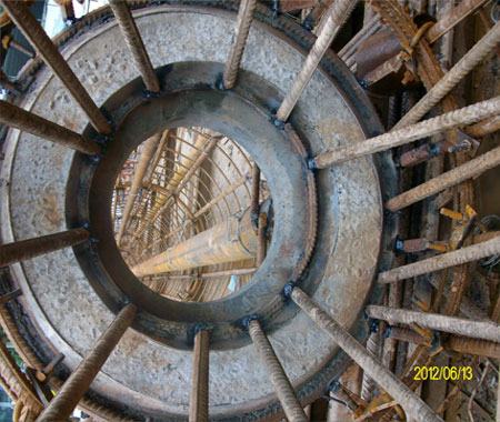 Welded-Ring-Super-Cell-BDSL-in-Reinforcement-cage-before-lowering-for-Social-Housing-Project-DuSense-LLC